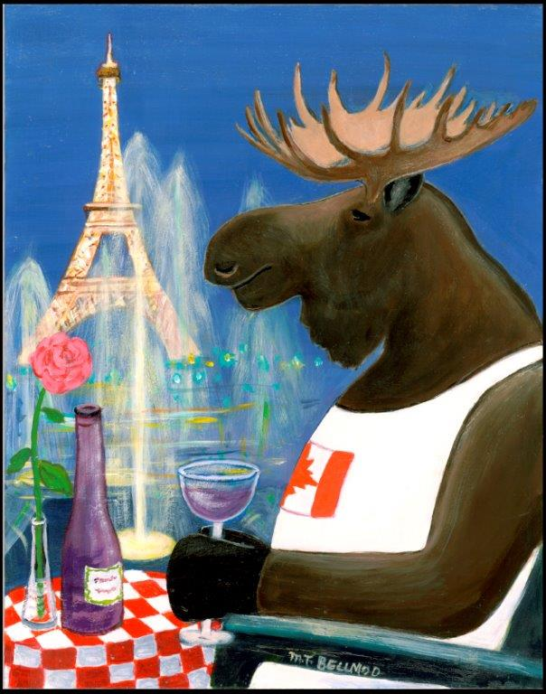 A Canadian Moose in Paris